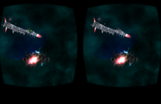 Cardboard 3D VR Space FPS game: Pořídit screenshot